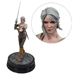 The Witcher 3 Wild Hunt Ciri Figure. Measures 7.75 inches tall including the base.