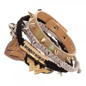 Wonder Woman Arm Party Bracelet Set