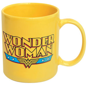 Wonder Woman Logo Ceramic Mug