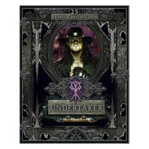 WWE Undertaker 25 Years of Destruction Hardcover Book
