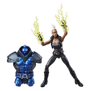 X-Men Marvel Legends 6 Inch Storm Action Figure. Highly articulated action figure measures 6 inches tall.