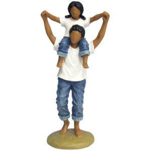 Westland Giftware Forever in Blue Jeans Daddys Little Girl Figurine