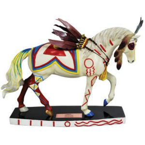 Westland Giftware Horse of a Different Color Warrior Figurine