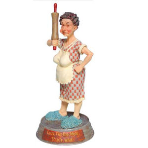 Y-Me Ranch Hands Mildred Maxine Figurine