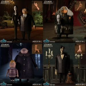 The Addams Family (2019) 2-Pack Assortment 5 Points Figures