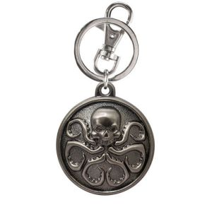 Agents of S.H.I.E.L.D. Hydra Symbol Pewter Keychain
