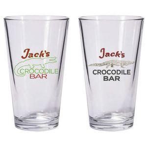 American Gods Jacks Crocodile Bar Pint Glass 2-Pack.