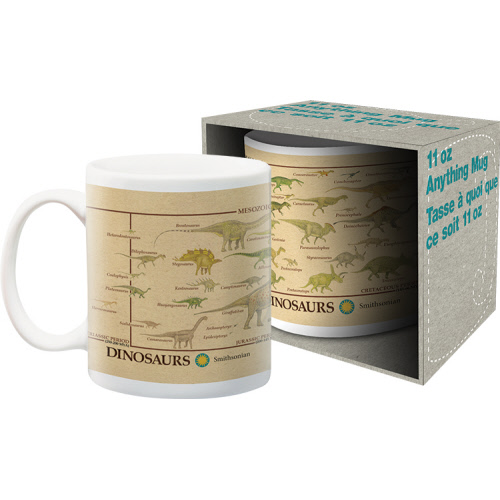 Smithsonian Dinosaurs 11 Ounce Boxed Mug