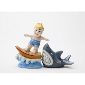 Attractives! Surfs Up Magnetic Salt and Pepper Shakers