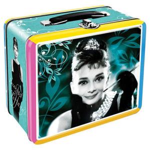 Breakfast at Tiffanys Large Fun Box Tin Tote