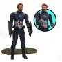 Marvel Select Avengers Infinity War Captain America Action Figure. Action figure features approximately 16 points of articulation and interchangeable parts and accessories.