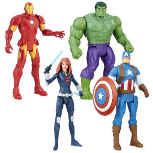 Avengers 6 Inch Action Figures Wave 1 Revision 1 Case