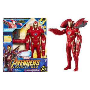 Avengers Infinity War Mission Tech Iron Man 14-Inch Action Figure