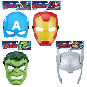 Avengers Hero Masks Wave 1 Case