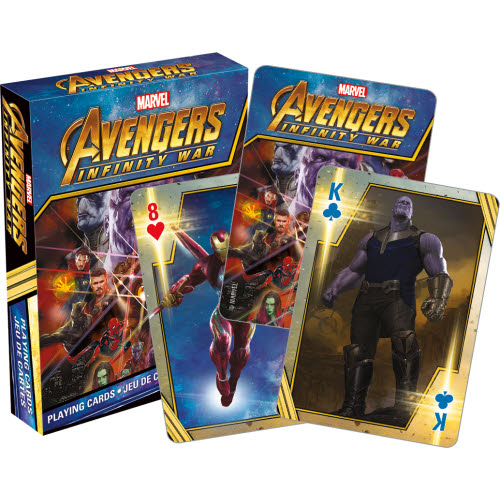 Avengers Infinity Wars Movie Playing Cards.