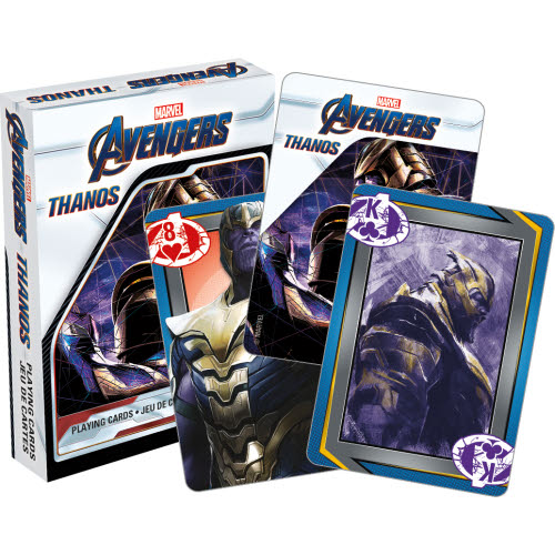Avengers Thanos Playing Cards