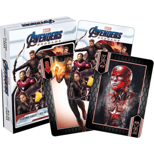 Marvel Avengers Endgame Movie Playing Cards
