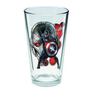 Avengers Age of Ultron Captain America 16 Ounce Pint Glass