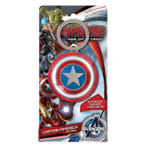 Avengers Age of Ultron Captain America Shield Pewter Key Chain