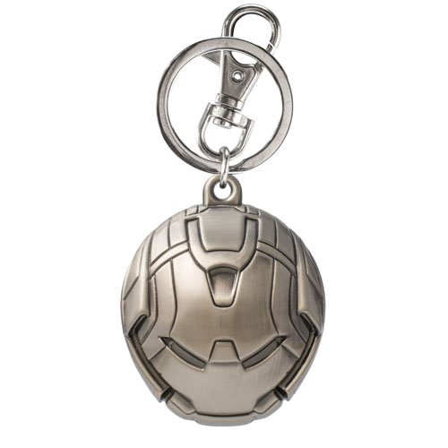 Avengers Age Of Ultron Hulk Buster Head Pewter Key Chain