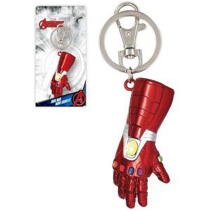 Avengers Iron Man Nano Gauntlet Pewter Key Ring
