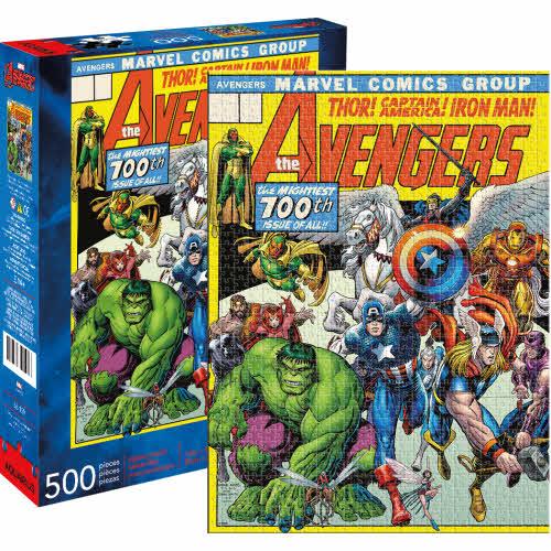 Marvel Avengers 100 Cover 500 Piece Puzzle