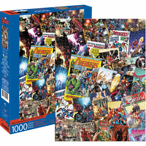 Marvel Avengers Collage 1000 Piece Puzzle.