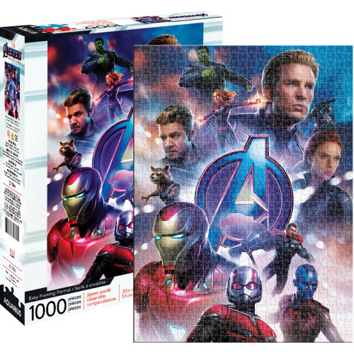 Marvel Avengers Endgame Movie 1000 Piece Puzzle.