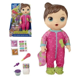 Baby Alive Dolls Mix My Medicine Baby (Brunette)