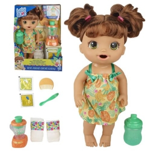 Baby Alive Dolls Magical Mixer Baby Tropical Treat Shake (Brunette)