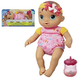 Baby Alive Dolls Sweet n Snuggly Baby (Brunette)