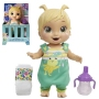 Baby Alive Baby Gotta Bounce Frog Blonde Doll. With 25+ cute sound effects and laughs, Baby Alive Baby Gotta Bounce interactive doll is full of adorable and sweet surprises.