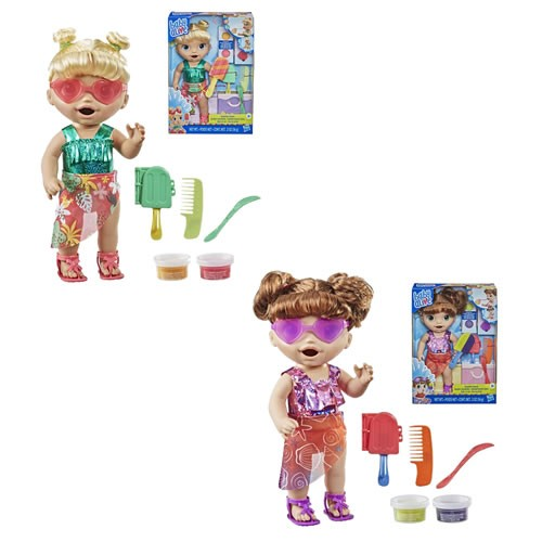 Baby Alive Sunshine Snacks Brunette Doll.