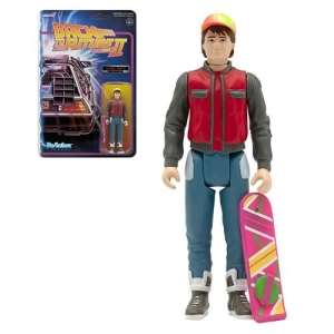Back To The Future 2  Marty McFly (Future) ReAction 3.75 Inch Retro Action Figure