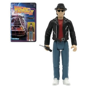 Back To The Future 2 1950s Marty McFly  3.75 Inch Retro Action Figure