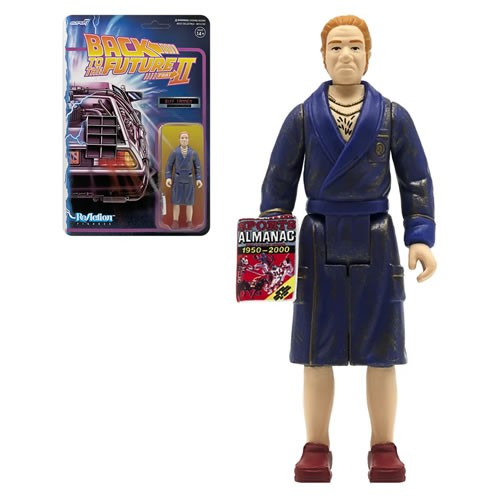 Back To The Future 2 Biff Tannen (Bathrobe) 3.75 Inch Retro Action Figure