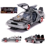 Back To The Future III 1/24th scale Die Cast DeLorean Time Machine with Lights.