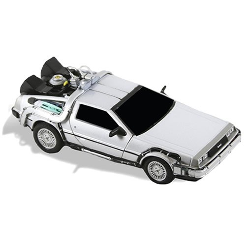 Back To The Future Delorean Diecast Time Machine. Measures 6 inches long.