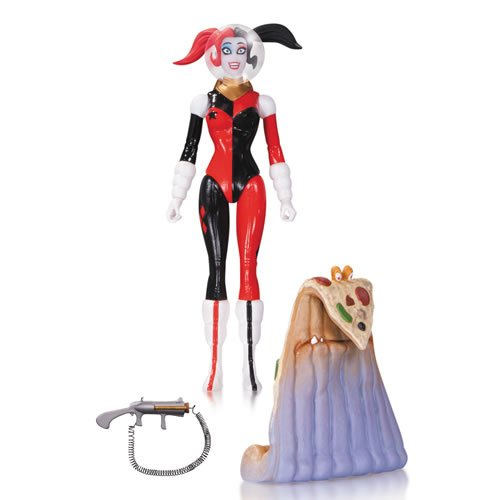 DC Comics Designer Action Figures Amanda Conner Series 01 Spacesuit Harley Quinn. Comes with space pizza and pop gun.