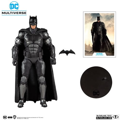 DC Multiverse Justice League (2021 Movie) 7 Inch Scale Batman Action Figure.