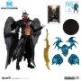 DC Multiverse Figures Batman Who Laughs (Sky Tyrant Wings) 7 Inch Scale Action figure.  Includes pieces to build the Batman of Earth-12, aka The Merciless.