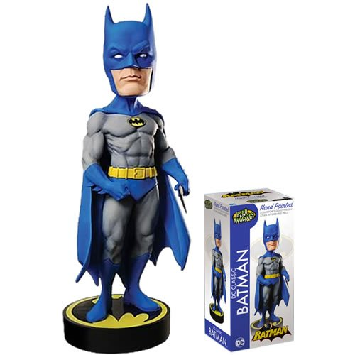 DC Comics Classic Batman Head Knocker Bobble Head. Measures 8 Inches tall.