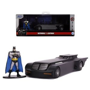 Hollywood Rides DC Comics Batman The Animated Series 1:32 Scale Diecast Batmobile with Batman Figure