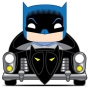 Batman 80th Anniversary Batman with Batmobile (1950 Version) Pop! Rides.