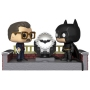 Batman 80th Anniversary Batman and James Gordon with Bat-Signal Pop! Movie Moments.