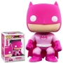 Breast Cancer Awareness Batman Pop! Vinyl Figure. Funko has made a $25,000 donation to the Breast Cancer Research Foundation to help aid in their mission to prevent and cure breast cancer by advancing the world's most promising research.