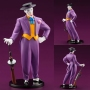 Batman The Animated Series 1/10th Scale The Joker ArtFX+ Statue. Joker comes with three interchangeable face parts depicting his characteristic grin, a sinister plotting expression, and a ticked off expression.