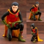 DC Comics 1/7th Scale Damian Robin Ikeman Statue. Comes with Bonus Head Part. The DC Comics IKEMEN line features concept art by the famous illustrator Ricken.