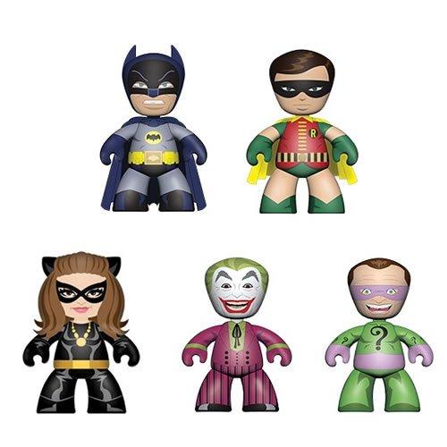 Batman 1966 Classic TV Series Mini Mez-Itz Figures Box Set.