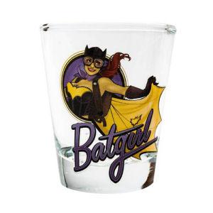 DC Bombshells Batgirl Shot Glass